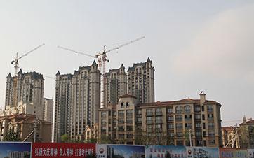 大庆创业城30万平米工程项目